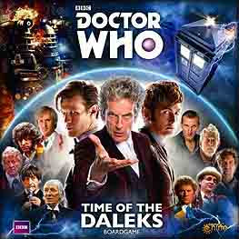 Spirit Games (Est. 1984) - Supplying role playing games (RPG), wargames rules, miniatures and scenery, new and traditional board and card games for the last 20 years sells Doctor Who: Time of the Daleks