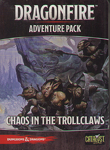 Spirit Games (Est. 1984) - Supplying role playing games (RPG), wargames rules, miniatures and scenery, new and traditional board and card games for the last 20 years sells Dragonfire Adventure Pack: Chaos in the Trollclaws