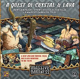 Spirit Games (Est. 1984) - Supplying role playing games (RPG), wargames rules, miniatures and scenery, new and traditional board and card games for the last 20 years sells Massive Darkness: A Quest of Crystal and Lava