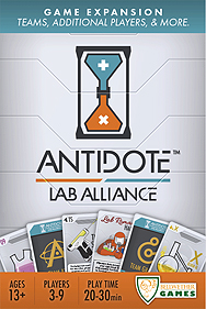Spirit Games (Est. 1984) - Supplying role playing games (RPG), wargames rules, miniatures and scenery, new and traditional board and card games for the last 20 years sells Antidote: Lab Alliance