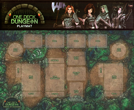 Spirit Games (Est. 1984) - Supplying role playing games (RPG), wargames rules, miniatures and scenery, new and traditional board and card games for the last 20 years sells One Deck Dungeon: Playmat