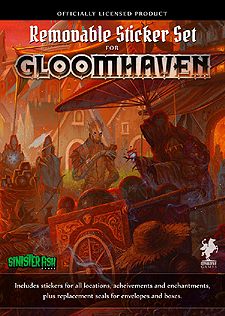 Spirit Games (Est. 1984) - Supplying role playing games (RPG), wargames rules, miniatures and scenery, new and traditional board and card games for the last 20 years sells Gloomhaven: Removable Sticker Set