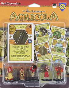 Spirit Games (Est. 1984) - Supplying role playing games (RPG), wargames rules, miniatures and scenery, new and traditional board and card games for the last 20 years sells Agricola: Red Expansion