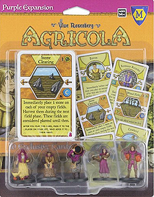 Spirit Games (Est. 1984) - Supplying role playing games (RPG), wargames rules, miniatures and scenery, new and traditional board and card games for the last 20 years sells Agricola: Purple Expansion