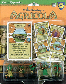 Spirit Games (Est. 1984) - Supplying role playing games (RPG), wargames rules, miniatures and scenery, new and traditional board and card games for the last 20 years sells Agricola: Green Expansion