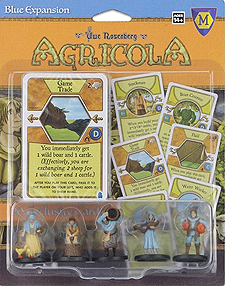 Spirit Games (Est. 1984) - Supplying role playing games (RPG), wargames rules, miniatures and scenery, new and traditional board and card games for the last 20 years sells Agricola: Blue Expansion