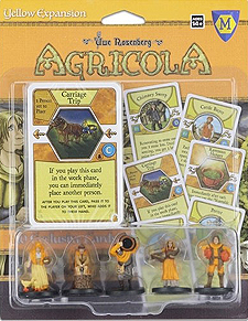 Spirit Games (Est. 1984) - Supplying role playing games (RPG), wargames rules, miniatures and scenery, new and traditional board and card games for the last 20 years sells Agricola: Yellow Expansion