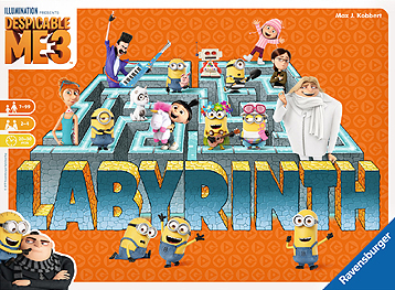 Spirit Games (Est. 1984) - Supplying role playing games (RPG), wargames rules, miniatures and scenery, new and traditional board and card games for the last 20 years sells Labyrinth: Despicable Me 3