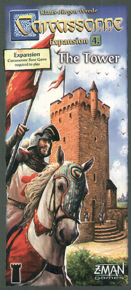 Spirit Games (Est. 1984) - Supplying role playing games (RPG), wargames rules, miniatures and scenery, new and traditional board and card games for the last 20 years sells Carcassonne Expansion 4: The Tower