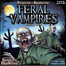 Spirit Games (Est. 1984) - Supplying role playing games (RPG), wargames rules, miniatures and scenery, new and traditional board and card games for the last 20 years sells Shadows of Brimstone: Feral Vampires Mission Pack