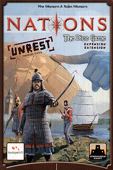Spirit Games (Est. 1984) - Supplying role playing games (RPG), wargames rules, miniatures and scenery, new and traditional board and card games for the last 20 years sells Nations: The Dice Game Unrest Expansion