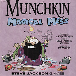 Spirit Games (Est. 1984) - Supplying role playing games (RPG), wargames rules, miniatures and scenery, new and traditional board and card games for the last 20 years sells Munchkin Magical Mess (damaged)