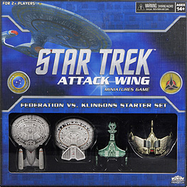 Spirit Games (Est. 1984) - Supplying role playing games (RPG), wargames rules, miniatures and scenery, new and traditional board and card games for the last 20 years sells Star Trek: Attack Wing Federation vs Klingons Starter Set