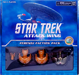 Spirit Games (Est. 1984) - Supplying role playing games (RPG), wargames rules, miniatures and scenery, new and traditional board and card games for the last 20 years sells Star Trek: Attack Wing Ferengi Faction Pack