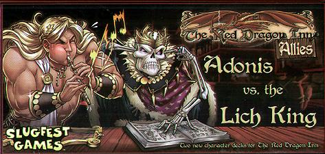 Spirit Games (Est. 1984) - Supplying role playing games (RPG), wargames rules, miniatures and scenery, new and traditional board and card games for the last 20 years sells The Red Dragon Inn: Allies - Adonis vs. the Lich King