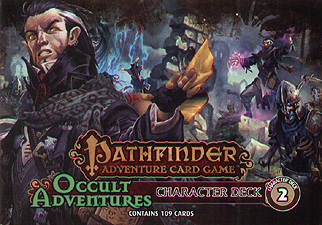 Spirit Games (Est. 1984) - Supplying role playing games (RPG), wargames rules, miniatures and scenery, new and traditional board and card games for the last 20 years sells Pathfinder Adventure Card Game: Occult adventures Character Deck 2