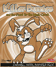Spirit Games (Est. 1984) - Supplying role playing games (RPG), wargames rules, miniatures and scenery, new and traditional board and card games for the last 20 years sells Killer Bunnies and the Quest for the Magic Carrot: Caramel Swirl Booster Deck