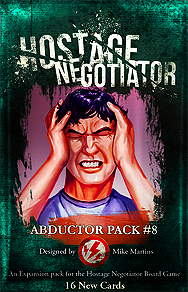 Spirit Games (Est. 1984) - Supplying role playing games (RPG), wargames rules, miniatures and scenery, new and traditional board and card games for the last 20 years sells Hostage Negotiator: Abductor Pack #8