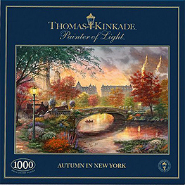 Spirit Games (Est. 1984) - Supplying role playing games (RPG), wargames rules, miniatures and scenery, new and traditional board and card games for the last 20 years sells Jigsaw: Autumn in New York 1000pc