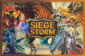 Spirit Games (Est. 1984) - Supplying role playing games (RPG), wargames rules, miniatures and scenery, new and traditional board and card games for the last 20 years sells Siege Storm