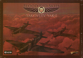 Spirit Games (Est. 1984) - Supplying role playing games (RPG), wargames rules, miniatures and scenery, new and traditional board and card games for the last 20 years sells Blood Red Skies: Yakovlev Yak-1