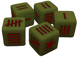 Spirit Games (Est. 1984) - Supplying role playing games (RPG), wargames rules, miniatures and scenery, new and traditional board and card games for the last 20 years sells Blood Red Skies: Soviet Dice