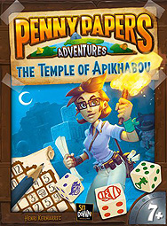 Spirit Games (Est. 1984) - Supplying role playing games (RPG), wargames rules, miniatures and scenery, new and traditional board and card games for the last 20 years sells Penny Papers Adventures: The Temple of Apikhabou