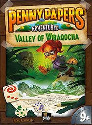 Spirit Games (Est. 1984) - Supplying role playing games (RPG), wargames rules, miniatures and scenery, new and traditional board and card games for the last 20 years sells Penny Papers Adventures: The Valley of Wiraqocha