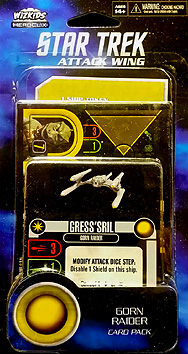 Spirit Games (Est. 1984) - Supplying role playing games (RPG), wargames rules, miniatures and scenery, new and traditional board and card games for the last 20 years sells Star Trek: Attack Wing Gorn Raider Card Pack