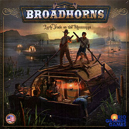 Spirit Games (Est. 1984) - Supplying role playing games (RPG), wargames rules, miniatures and scenery, new and traditional board and card games for the last 20 years sells Broadhorns: Early Trade on the Mississippi