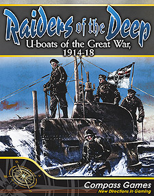 Spirit Games (Est. 1984) - Supplying role playing games (RPG), wargames rules, miniatures and scenery, new and traditional board and card games for the last 20 years sells Raiders of the Deep: U-Boats of the Great War, 1914-18