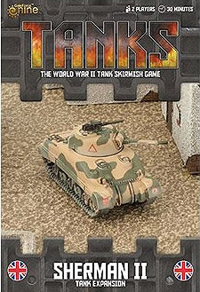 Spirit Games (Est. 1984) - Supplying role playing games (RPG), wargames rules, miniatures and scenery, new and traditional board and card games for the last 20 years sells Tanks: Sherman II Expansion