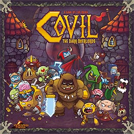 Spirit Games (Est. 1984) - Supplying role playing games (RPG), wargames rules, miniatures and scenery, new and traditional board and card games for the last 20 years sells Covil: The Dark Overlords<br>Includes stickers
