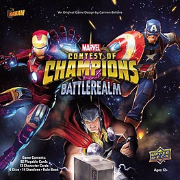 Spirit Games (Est. 1984) - Supplying role playing games (RPG), wargames rules, miniatures and scenery, new and traditional board and card games for the last 20 years sells Marvel Contest of Champions: Battlerealm