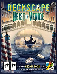 Spirit Games (Est. 1984) - Supplying role playing games (RPG), wargames rules, miniatures and scenery, new and traditional board and card games for the last 20 years sells Deckscape: Heist in Venice