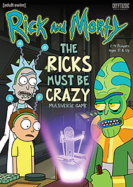 Spirit Games (Est. 1984) - Supplying role playing games (RPG), wargames rules, miniatures and scenery, new and traditional board and card games for the last 20 years sells Rick and Morty: The Ricks Must Be Crazy Multiverse Game