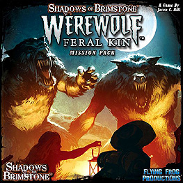 Spirit Games (Est. 1984) - Supplying role playing games (RPG), wargames rules, miniatures and scenery, new and traditional board and card games for the last 20 years sells Shadows of Brimstone: Werewolf Feral Kin Mission Pack