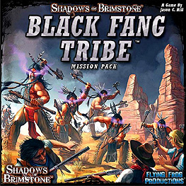 Spirit Games (Est. 1984) - Supplying role playing games (RPG), wargames rules, miniatures and scenery, new and traditional board and card games for the last 20 years sells Shadows of Brimstone: Black Fang Tribe Mission Pack