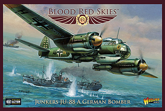 Spirit Games (Est. 1984) - Supplying role playing games (RPG), wargames rules, miniatures and scenery, new and traditional board and card games for the last 20 years sells Blood Red Skies: Junkers JU-88 A German Bomber