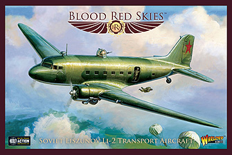 Spirit Games (Est. 1984) - Supplying role playing games (RPG), wargames rules, miniatures and scenery, new and traditional board and card games for the last 20 years sells Blood Red Skies: Soviet Liszunov L1-2 Transport Aircraft