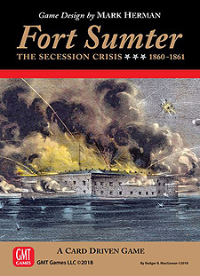 Spirit Games (Est. 1984) - Supplying role playing games (RPG), wargames rules, miniatures and scenery, new and traditional board and card games for the last 20 years sells Fort Sumter: The Secession Crisis 1860-1861