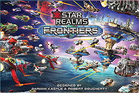 Spirit Games (Est. 1984) - Supplying role playing games (RPG), wargames rules, miniatures and scenery, new and traditional board and card games for the last 20 years sells Star Realms: Frontiers