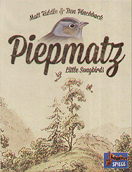 Spirit Games (Est. 1984) - Supplying role playing games (RPG), wargames rules, miniatures and scenery, new and traditional board and card games for the last 20 years sells Piepmatz (Little Songbirds)
