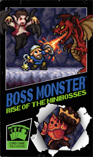 Spirit Games (Est. 1984) - Supplying role playing games (RPG), wargames rules, miniatures and scenery, new and traditional board and card games for the last 20 years sells Boss Monster: Rise of the Minibosses