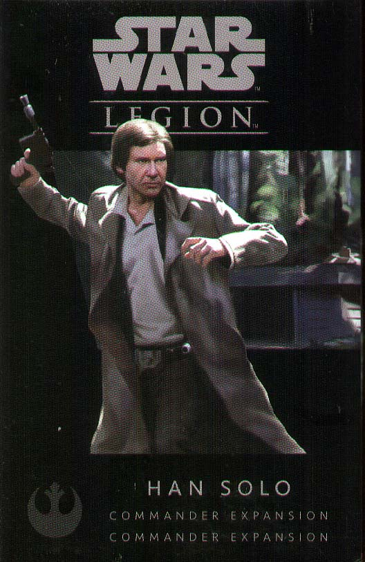 Spirit Games (Est. 1984) - Supplying role playing games (RPG), wargames rules, miniatures and scenery, new and traditional board and card games for the last 20 years sells Star Wars: Legion - Han Solo Commander Expansion