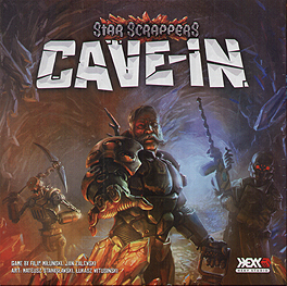 Spirit Games (Est. 1984) - Supplying role playing games (RPG), wargames rules, miniatures and scenery, new and traditional board and card games for the last 20 years sells Star Scrappers: Cave-In