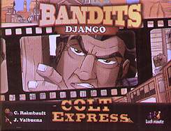 Spirit Games (Est. 1984) - Supplying role playing games (RPG), wargames rules, miniatures and scenery, new and traditional board and card games for the last 20 years sells Colt Express: Bandits - Django