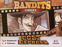 Spirit Games (Est. 1984) - Supplying role playing games (RPG), wargames rules, miniatures and scenery, new and traditional board and card games for the last 20 years sells Colt Express: Bandits - Ghost