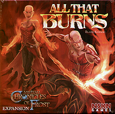 Spirit Games (Est. 1984) - Supplying role playing games (RPG), wargames rules, miniatures and scenery, new and traditional board and card games for the last 20 years sells Chronicles of Frost: All That Burns