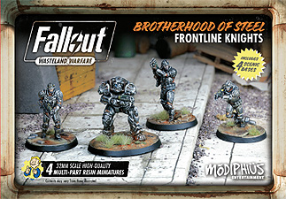 Spirit Games (Est. 1984) - Supplying role playing games (RPG), wargames rules, miniatures and scenery, new and traditional board and card games for the last 20 years sells Fallout: Wasteland Warfare - Brotherhood of Steel Frontline Knights